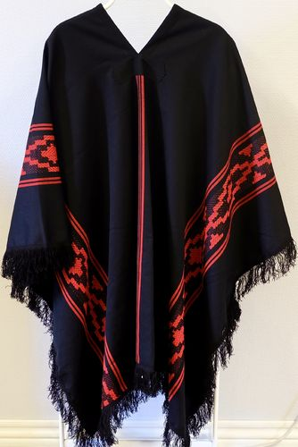 Argentinsk Traditionell Poncho
