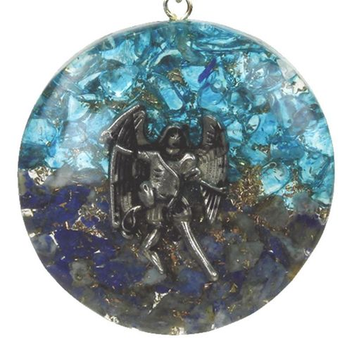 Orgonite pendant archangel Michael